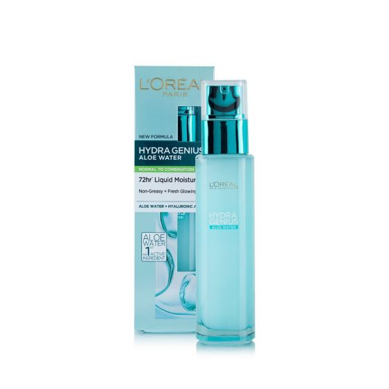 L'Oreal Hydra Genius Aloe Water For Normal to Combination Skin - 70ml