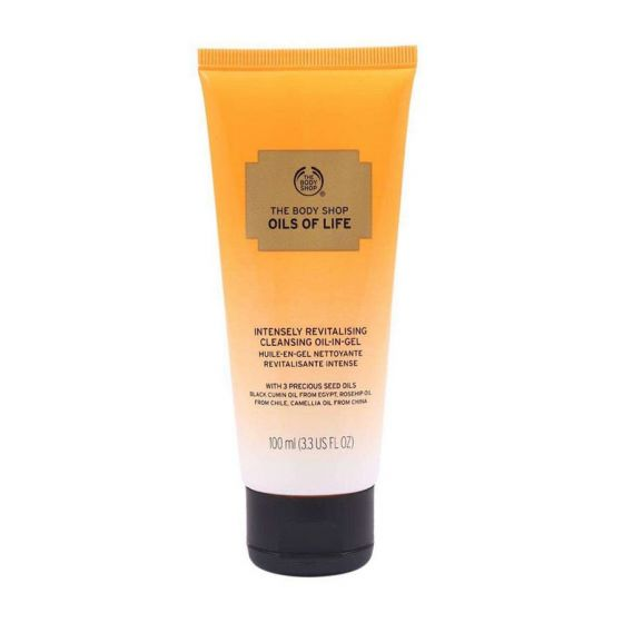 The Body Shop Oils Of Life Intensely Revitalising Cleansing Oil In Gel - 100ml