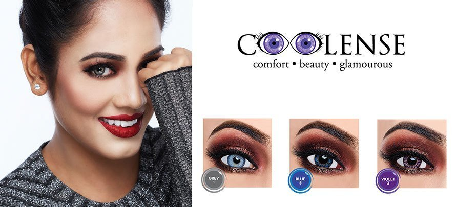 Coolense Color Contact Lenses