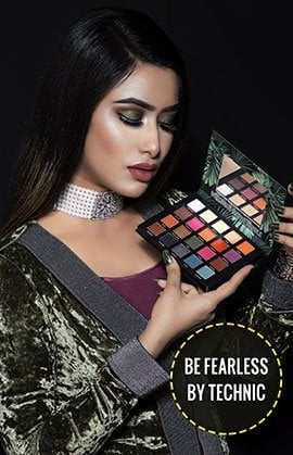 Technic 20 Color Limited Edition Be Fearless Eye Shadow Palette